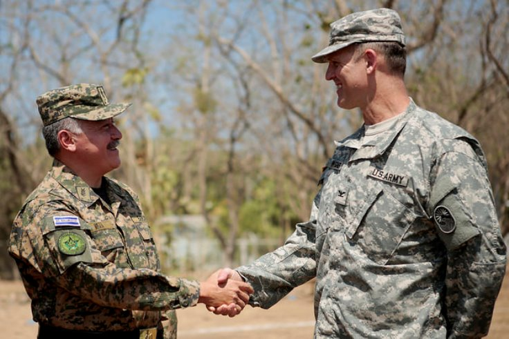 Salvadoran Armed Forces and SOUTHCOM Cooperate to Build Schools and Provide Medical Services