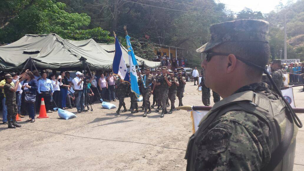 Guatemalan and Honduran Armed Forces Cooperate to Protect Shared Border