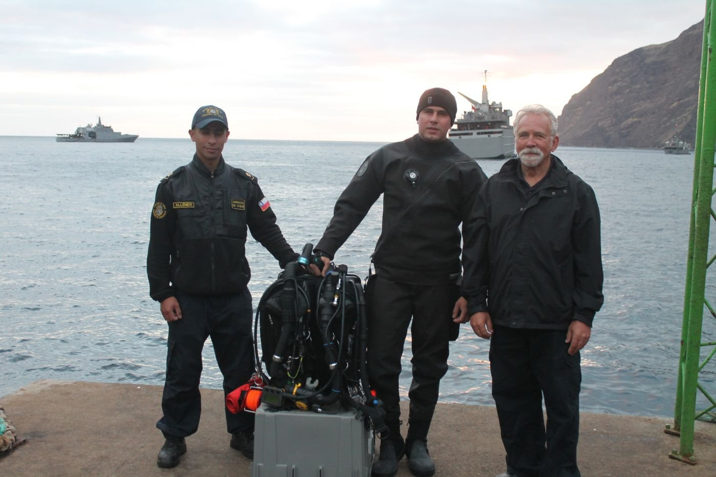 Chilean Navy Achieves International Certification for Deep-Water Scuba Diving