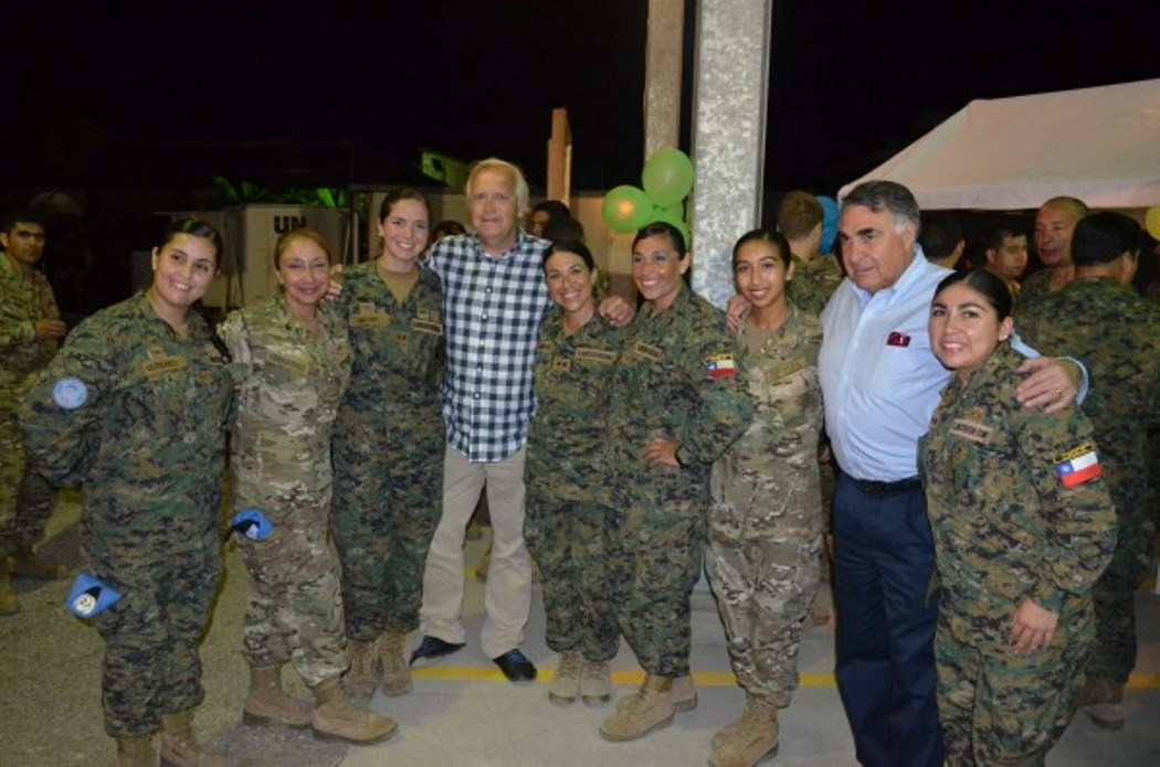 Female Chilean Soldiers Play Important Roles in UN Peace Missions