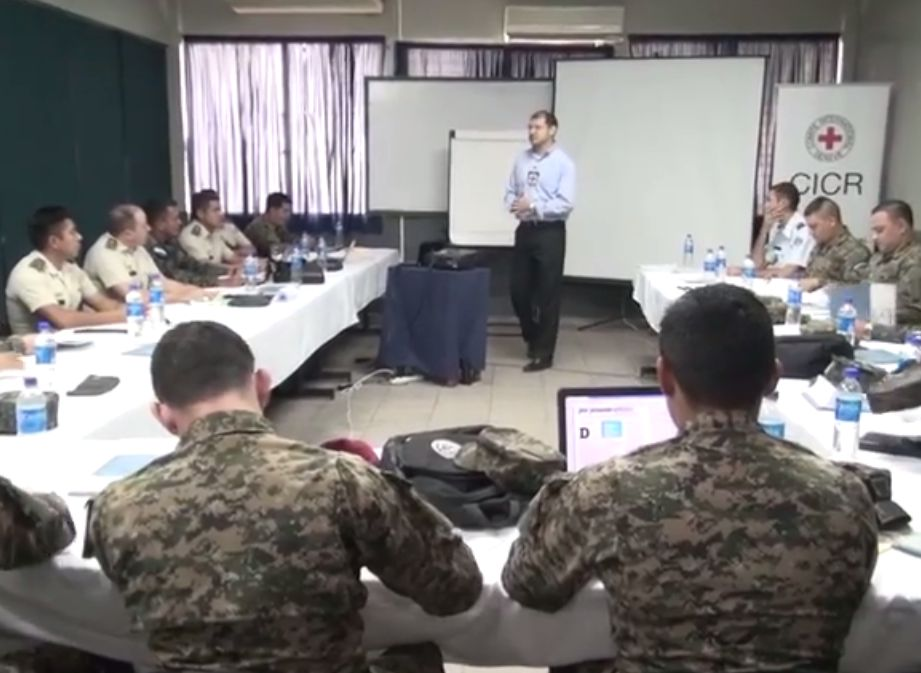 Central America and Dominican Republic Militaries Train on Human Rights