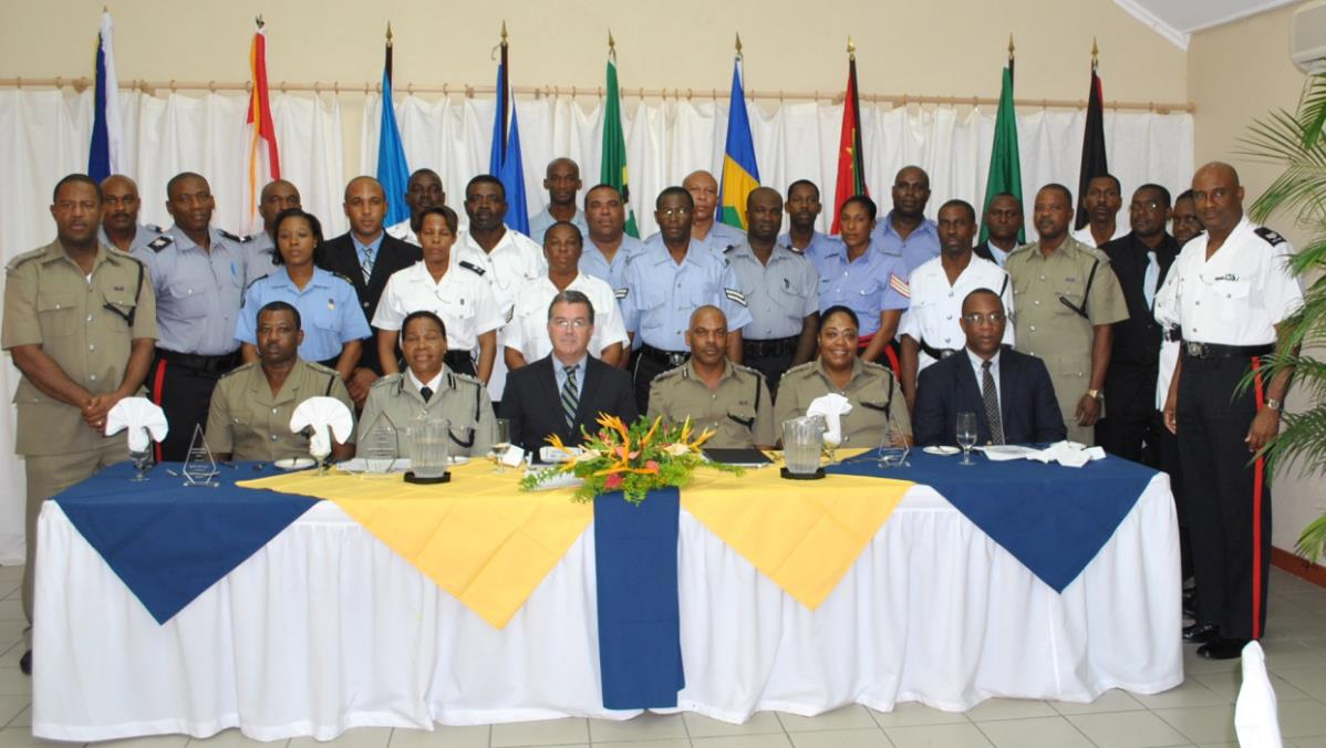 Caribbean Senior Police Officers Trained in Hostage Negotiation Tactics
