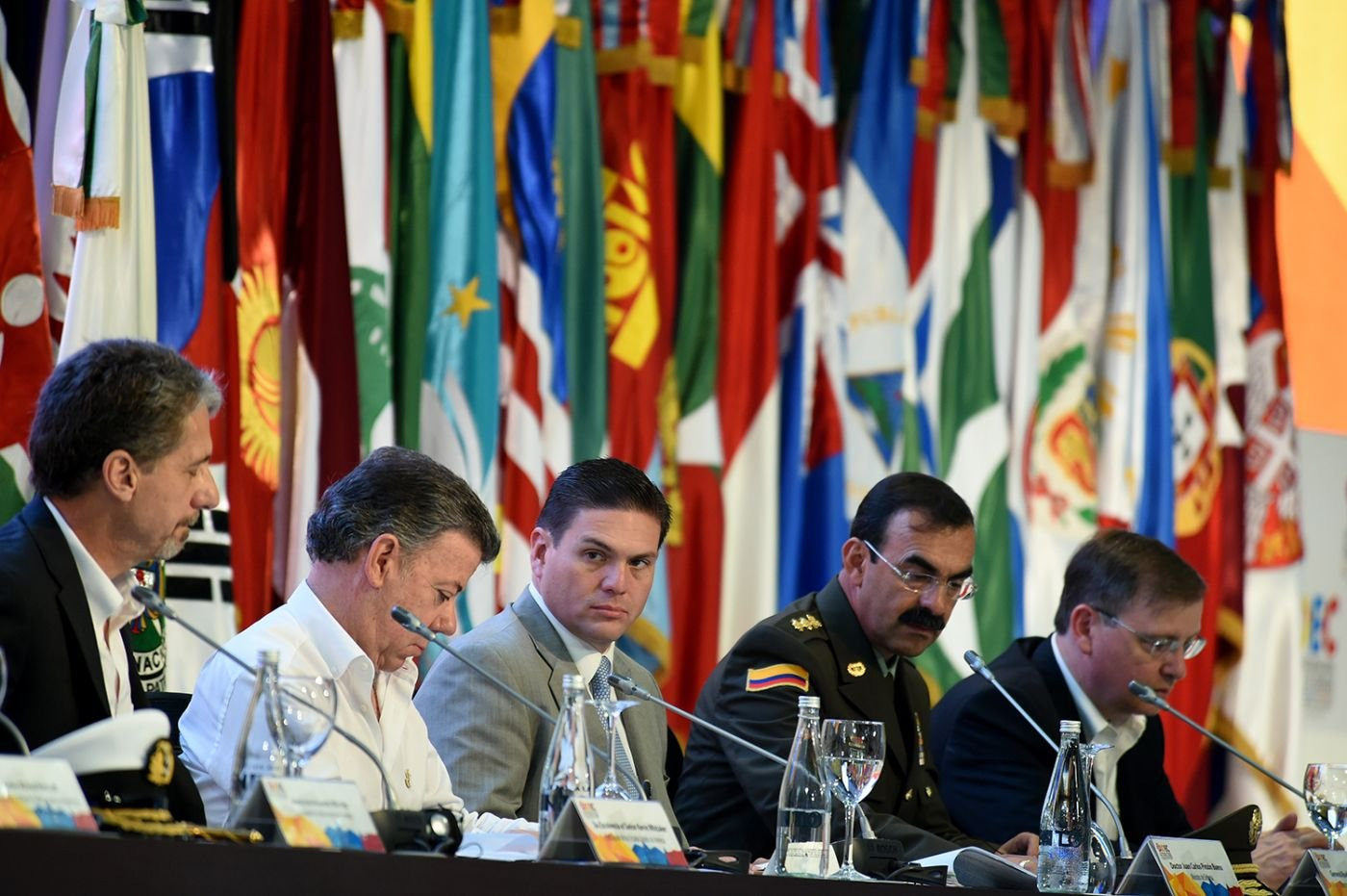 Summit in Colombia Focuses on Global Drug Trafficking Fight