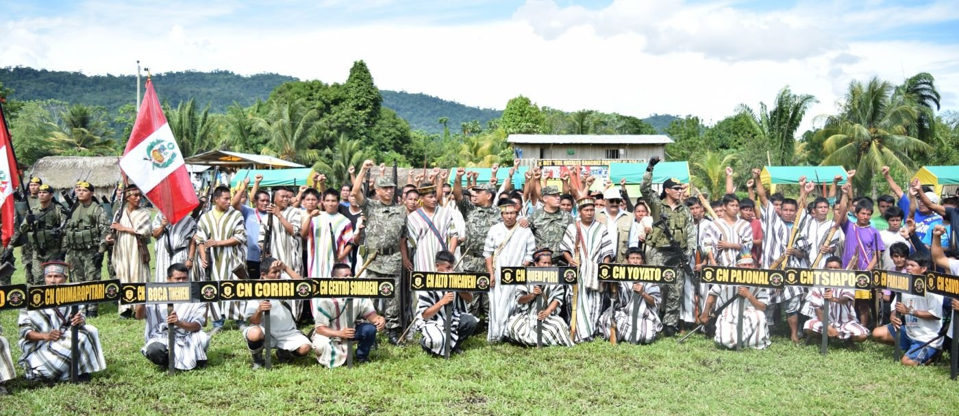 Youth from Indigenous Communities Join the Peruvian Army