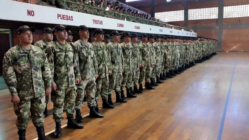 Paraguayan Soldiers Train with Colombian Armed Forces