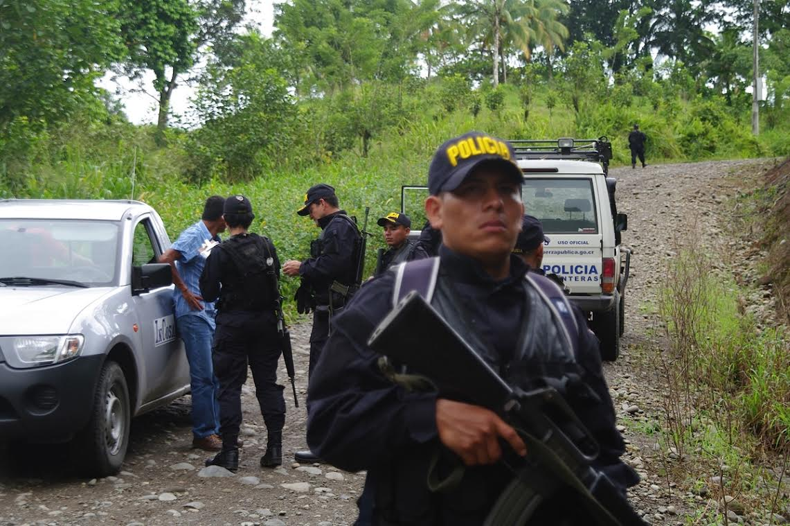 Costa Rican Security Officials  and U.S. Border Patrol Train Together to Improve Security