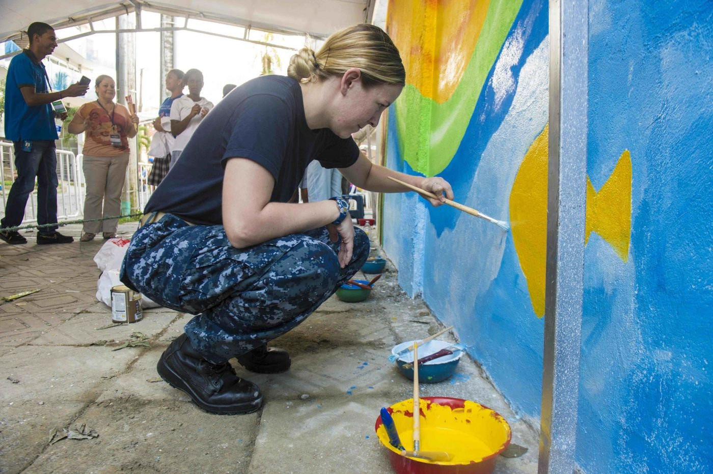 USNS Comfort Continues Humanitarian Mission in Colombia as Part of Continuing Promise 2015