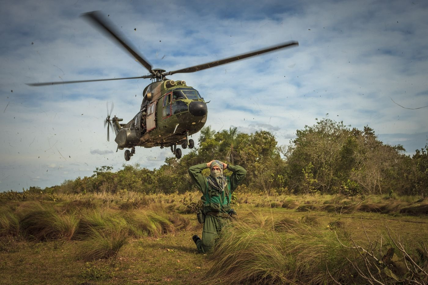 Brazil's Air Force Conducts Combat Rescue Training and Air Show