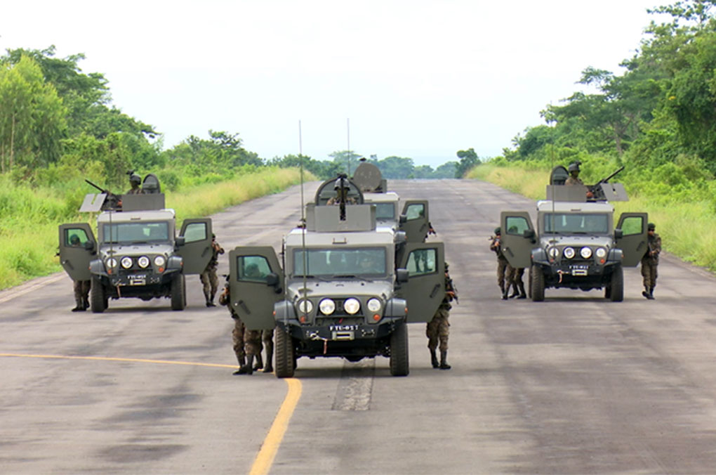 Guatemalan Army  Fights Transnational Crime with Renovated Armored Vehicles