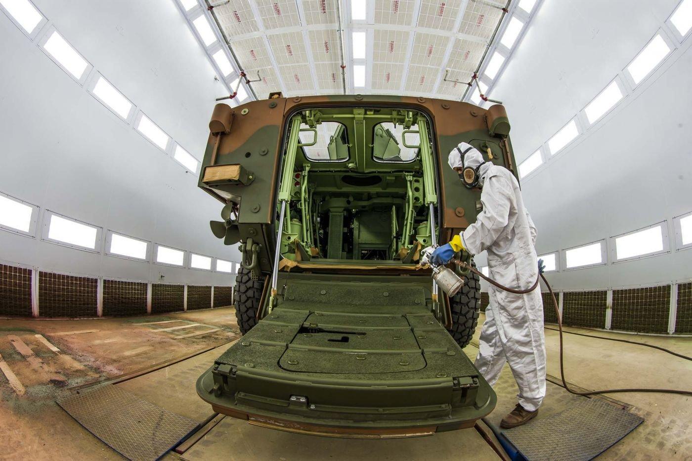Brazilian Army Modernizes its Armored Vehicle Fleet with Guarani Project