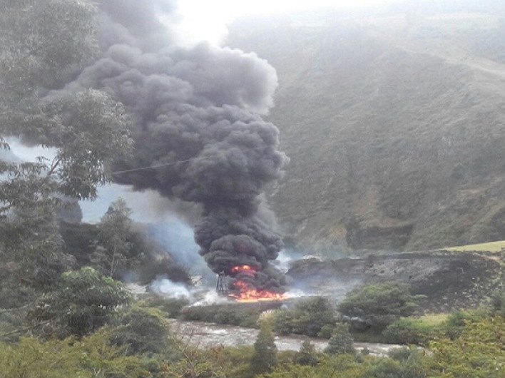 Colombia's Armed Forces, National Police Protect Oil Pipelines from Terrorist Attacks