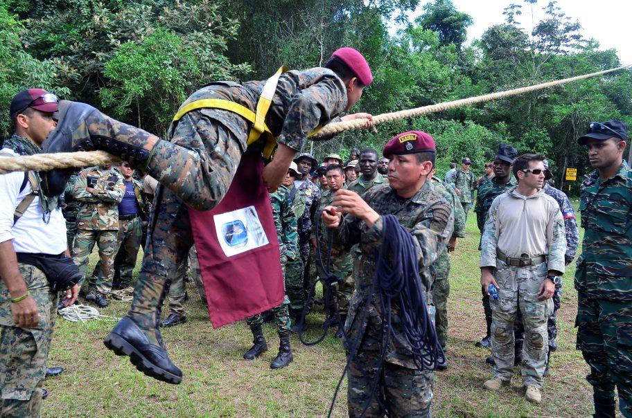Colombia Wins Fuerzas Comando in Guatemala