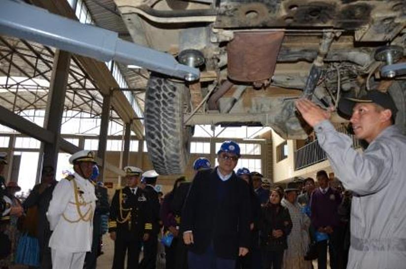 Bolivia's Navy Builds a Maintenance and Training Center in Effort to Improve Capabilities