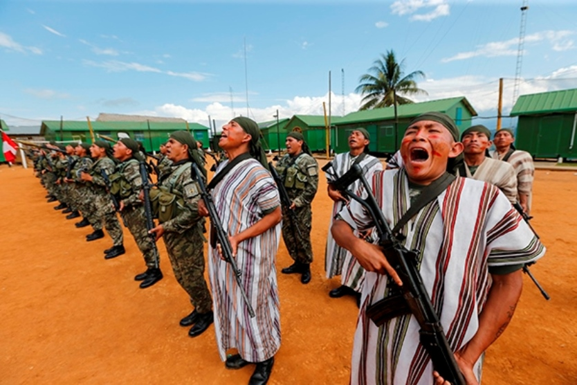Indigenous Soldiers Comprise New Army Post in the VRAEM