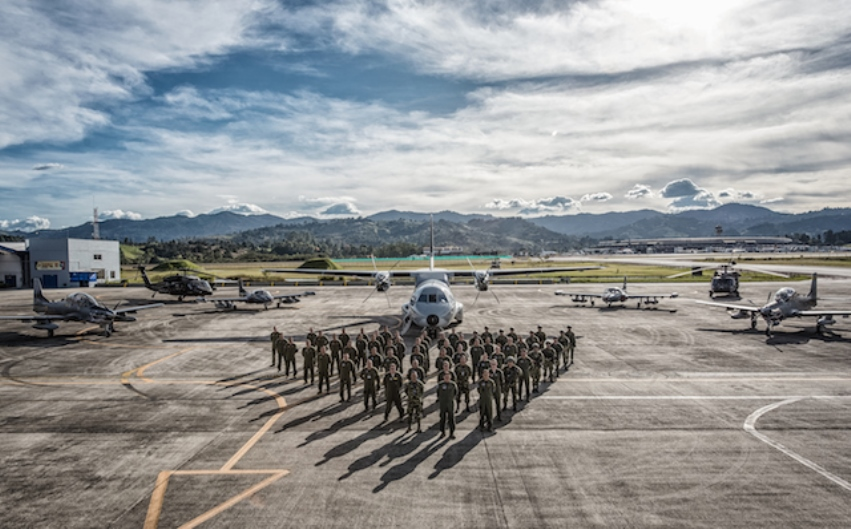 Ángel de los Andes Provides Training for Air Forces from the Americas