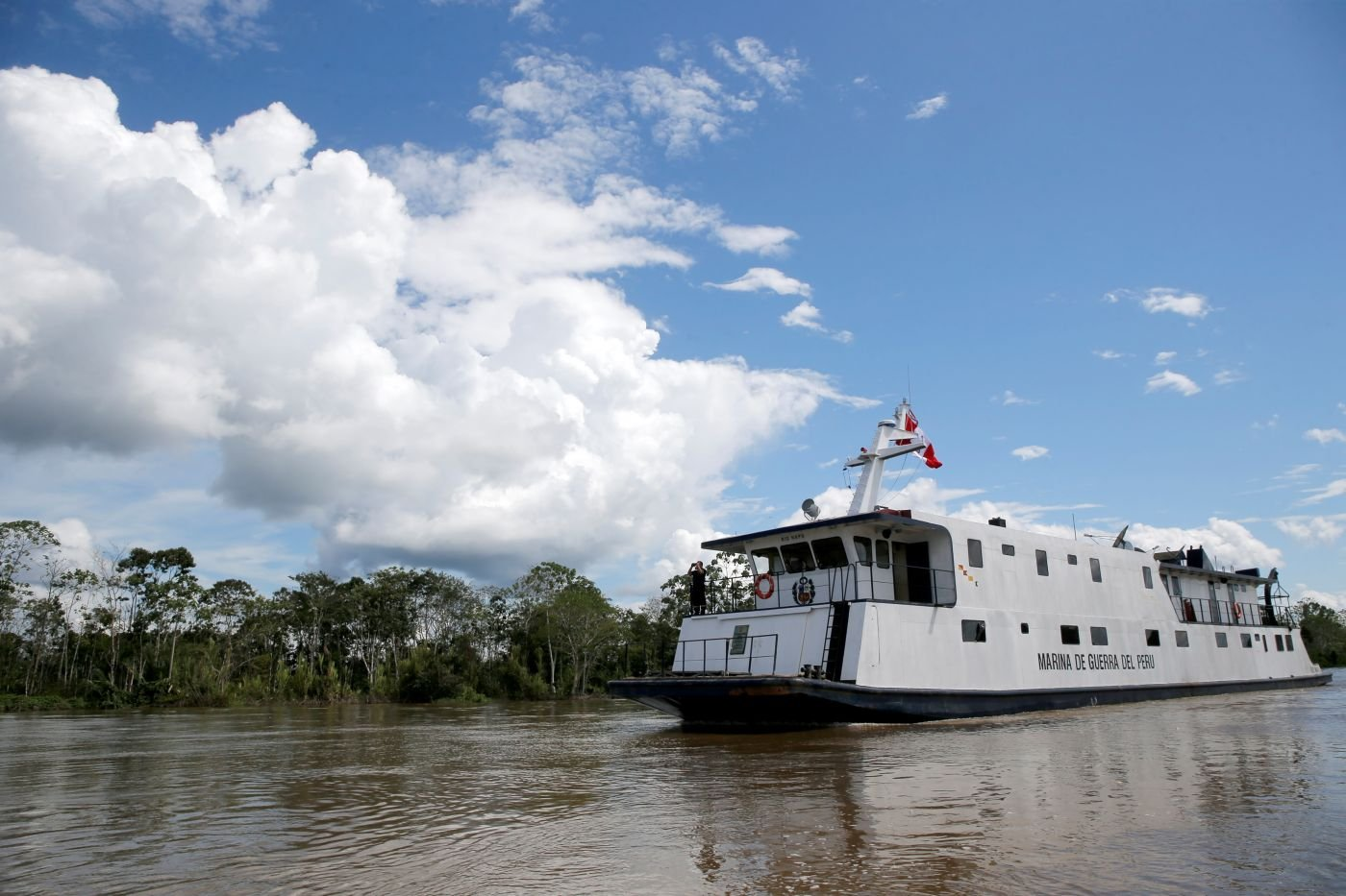 Peruvian Navy Provides Medical, Social Support to Amazon Population