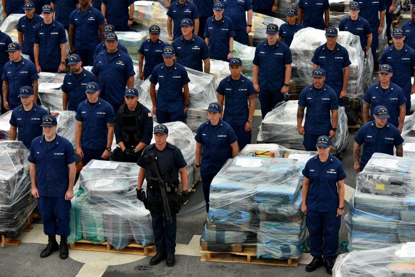 Operation MARTILLO: U.S. Coast Guard, Law Enforcement Teams Seize More than 32 Tons of Cocaine