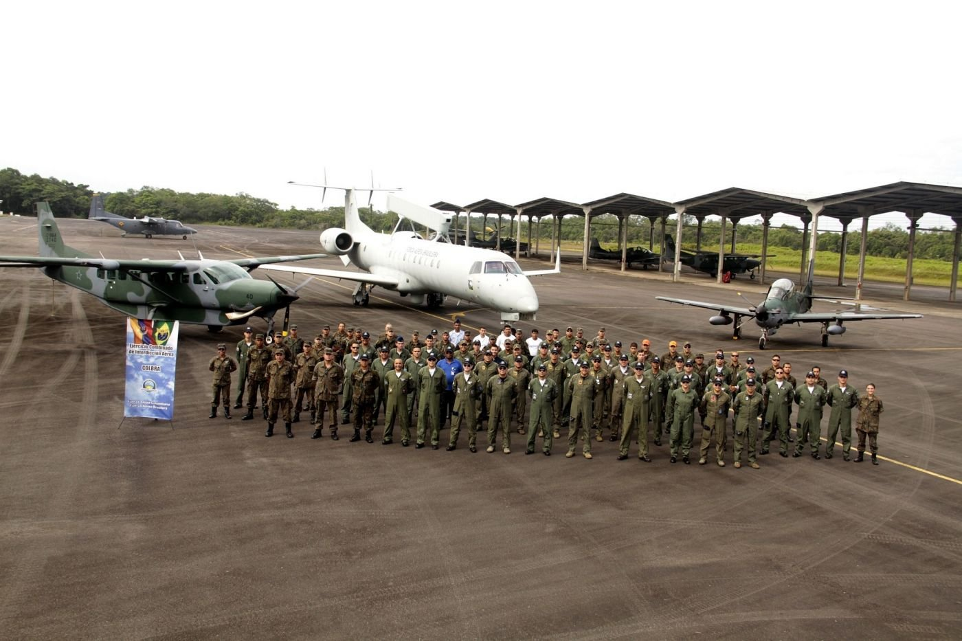 Brazilian and Colombian Air Forces Train Together in COLBRA IV to Fight Drug Trafficking