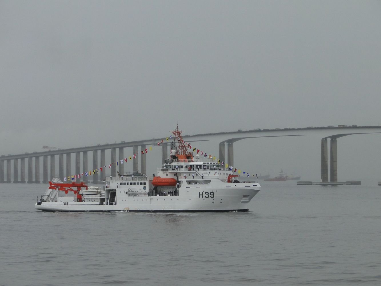 Brazilian Navy Acquires Most Modern Science Ship in its Fleet