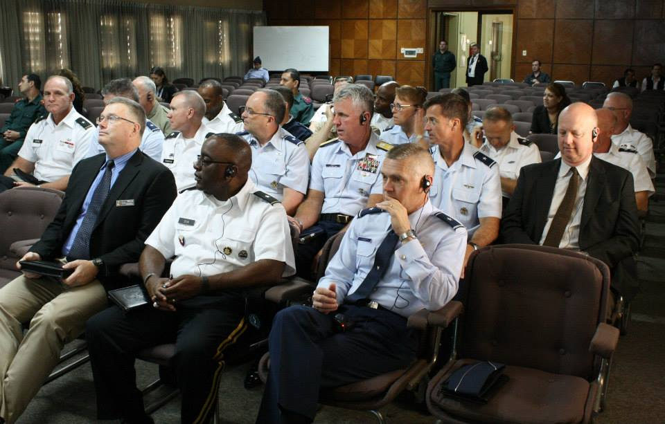 Senior Paraguayan and U.S. Military Officers Meet to Bolster Regional Cooperation on Security Issues