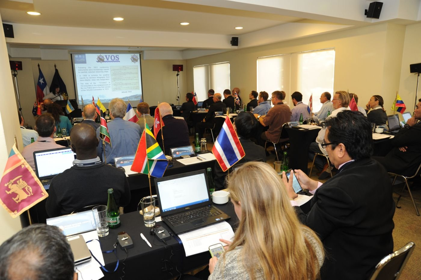 Chilean Navy Hosts Conference of Military Meteorologists