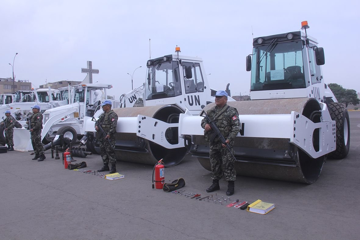 Peruvian Armed Forces to Deploy Military Engineers to the Central African Republic