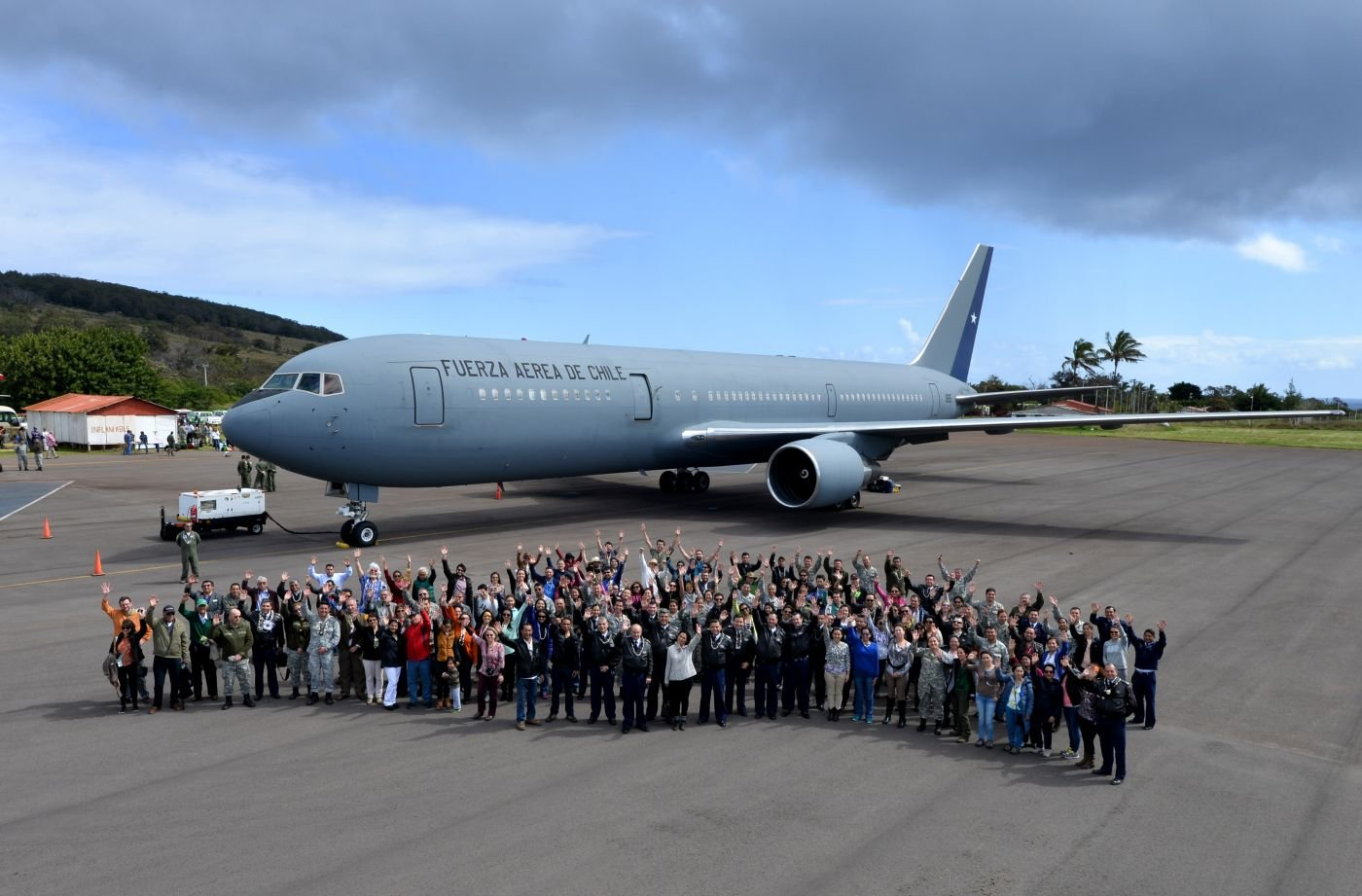 Chilean Air Force Deploys a Medical Operation to Easter Island
