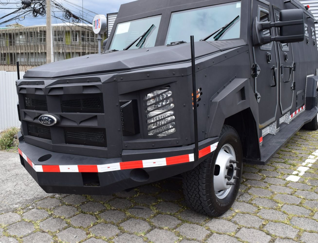 Costa Rican Security Forces Deploy Armored Vehicle to Fight Organized Crime