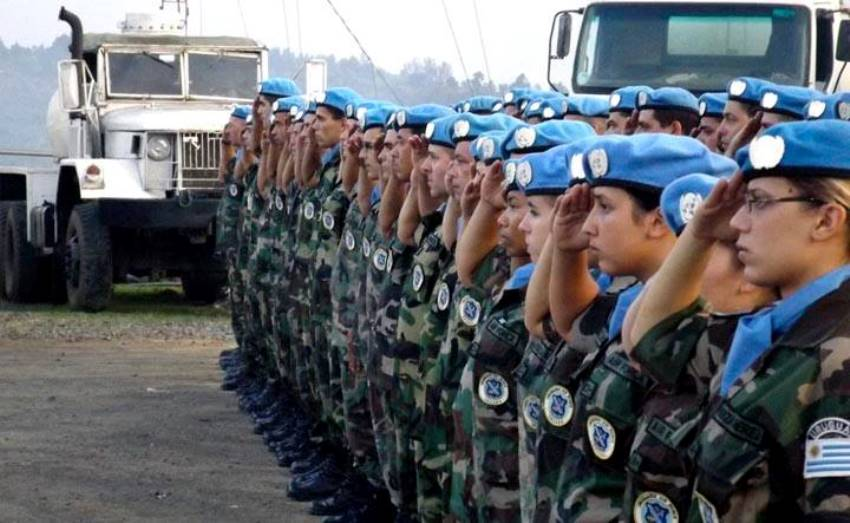 Uruguayan Female Soldiers Serve in UN Peacekeeping Missions