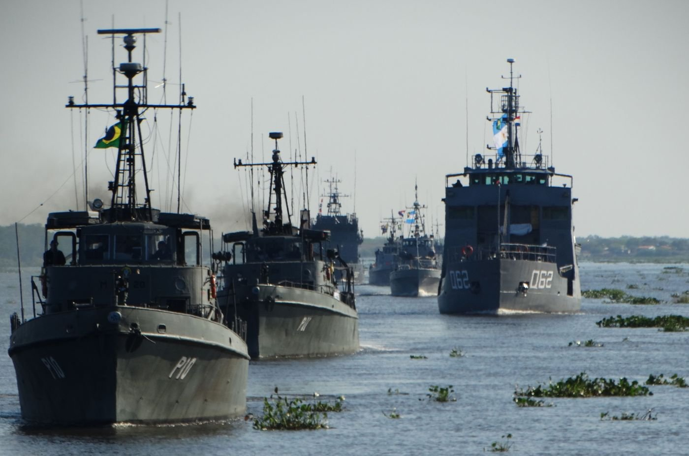 Navies from 5 South American Countries Participate in ACRUX VII