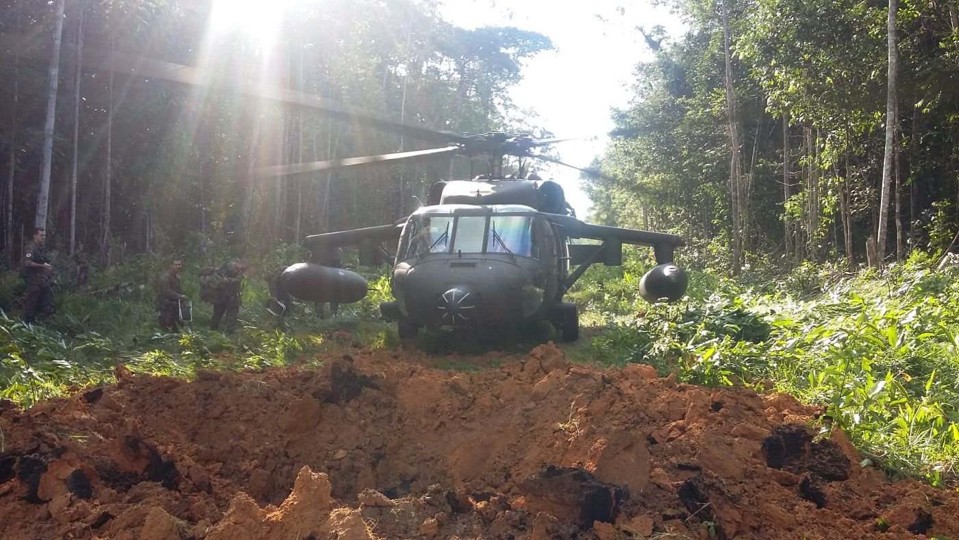 Operation Curare VI : Brazilian Armed Forces Fight  Crime in Northern Border Region