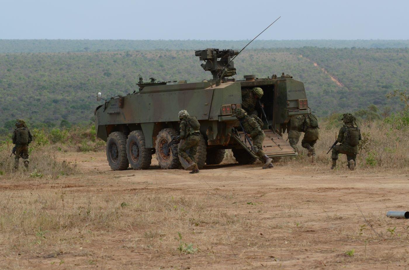 """Brazilian, U.S. Marines Perform Training Exercise """"Operation Formosa"""""""