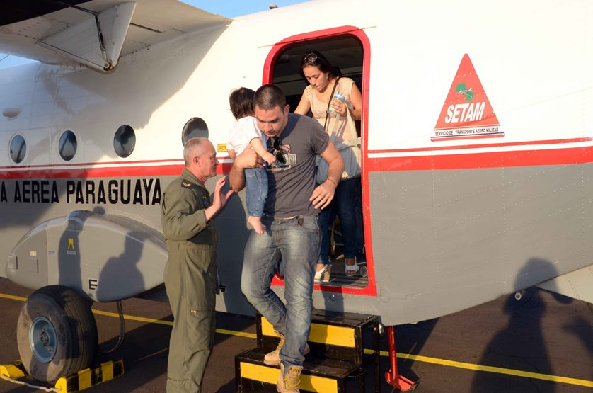 Paraguayan Military Pilots Fly Patients from Remote Areas to Medical Appointments