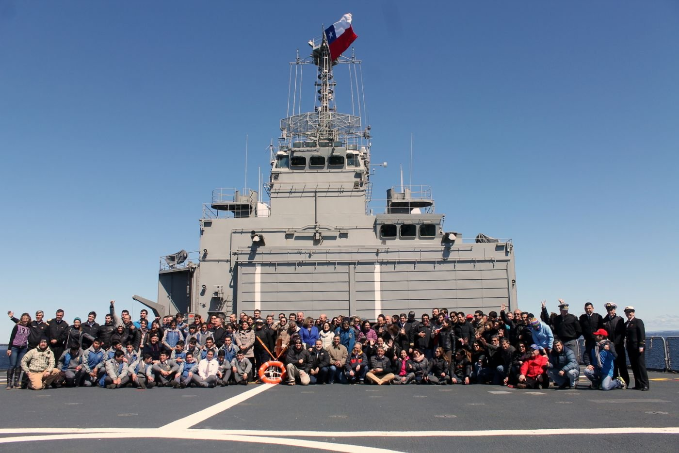 Chilean Navy Supports First Chiloé 2015 Acrux Medical Operation