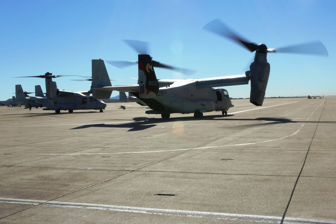 Osprey Aircrafts Arrive in Brazil to Support Unitas Amphibious