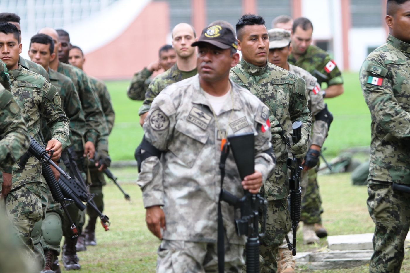 Training with Marines from Eight Countries