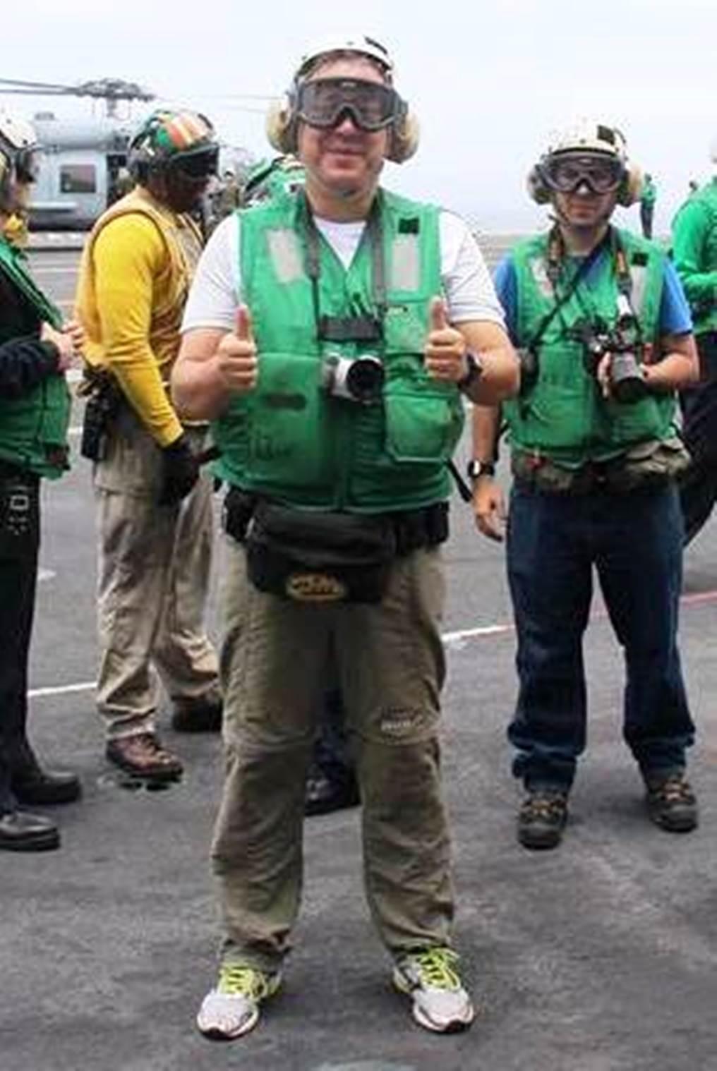 U.S. Carrier USS George Washington: A Boy's Dream Come True