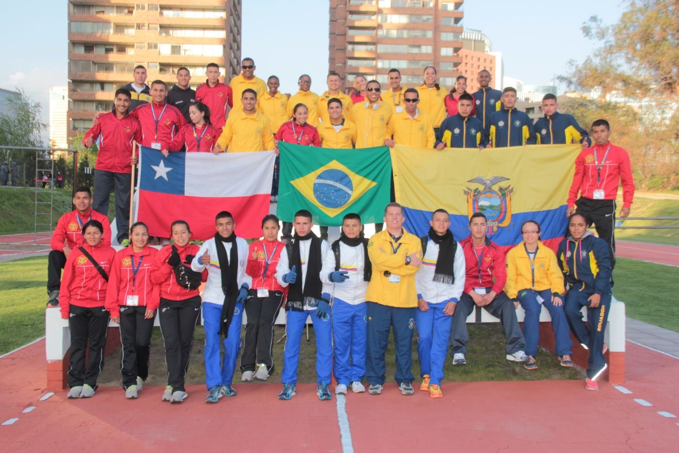 Young South American Service Members Compete in Sports Tournament in Chile
