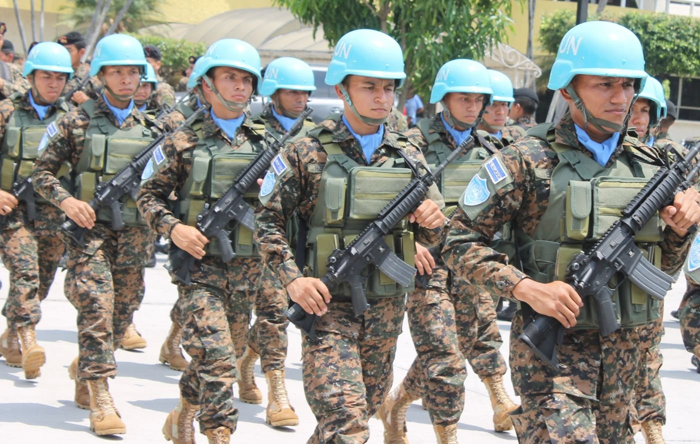 New Contingent of Salvadoran Troops Joins UN Mission in Haiti