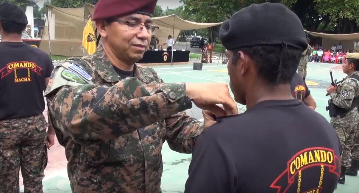 Hacha Command Helps Fight Gangs in El Salvador