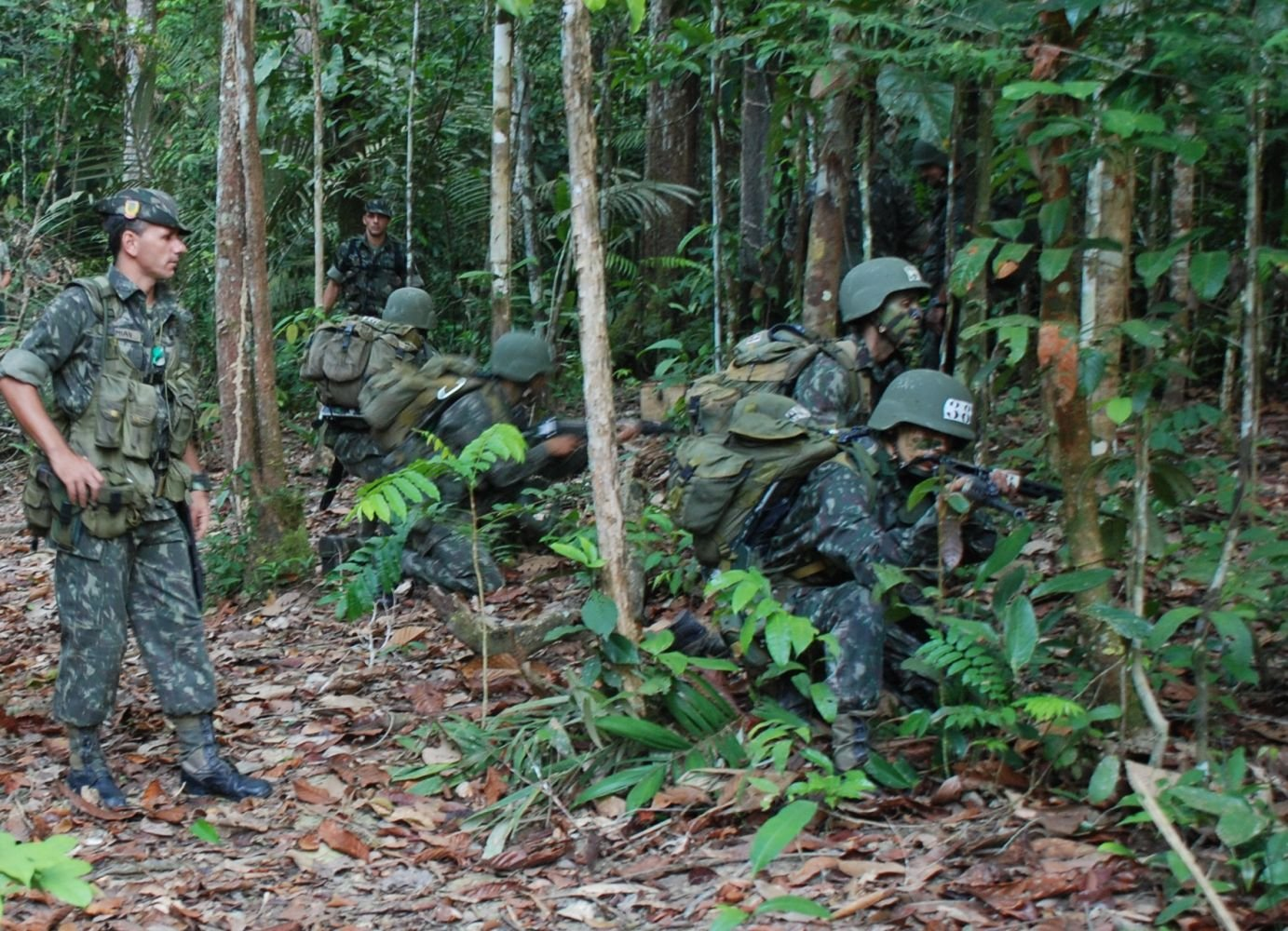The Fight Against Drug-Trafficking in the Jungles of Rio de Janeiro