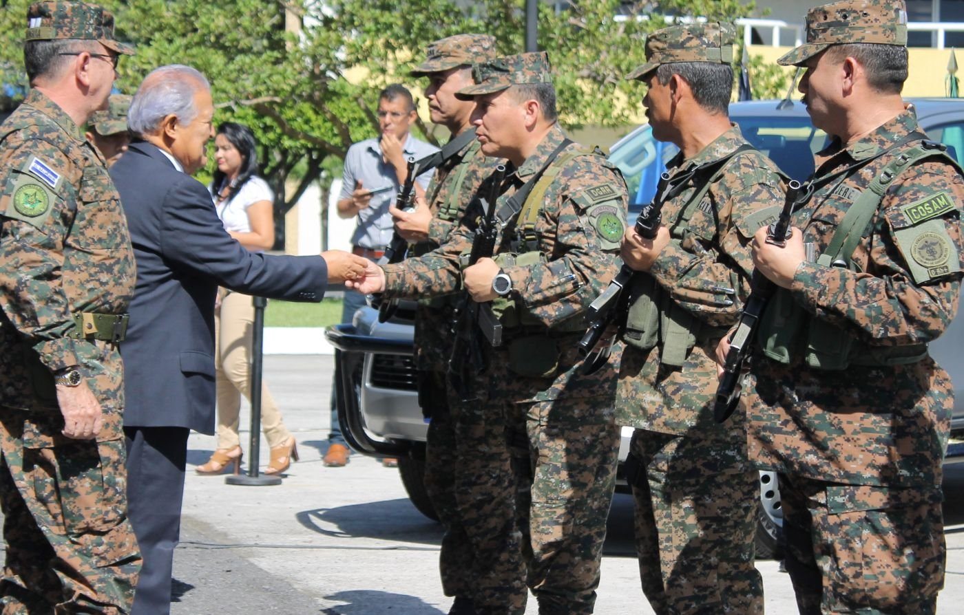 El Salvador's Armed Forces Receive New Vehicles to Fight Violent Street Gangs