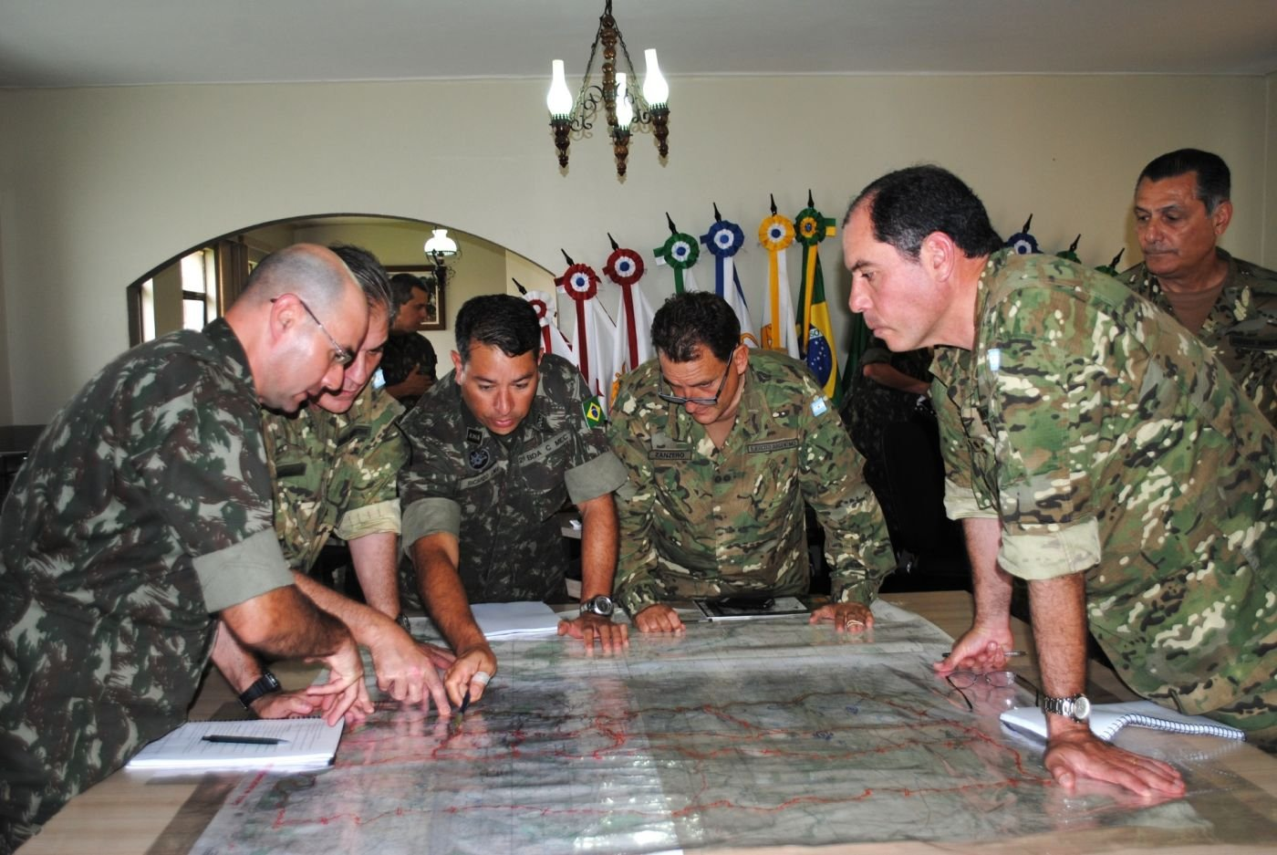Brazilian and Argentine Armies Train Together, Strengthen Ties