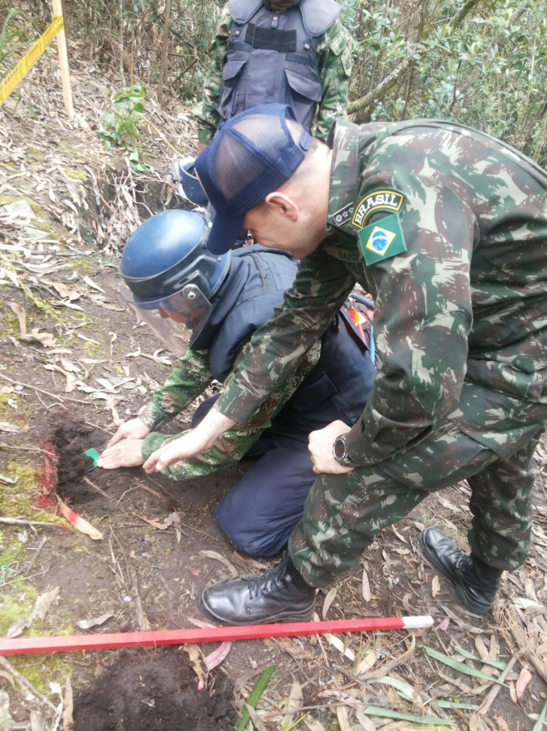 Brazilian Armed Forces Bolster Colombia Demining Efforts