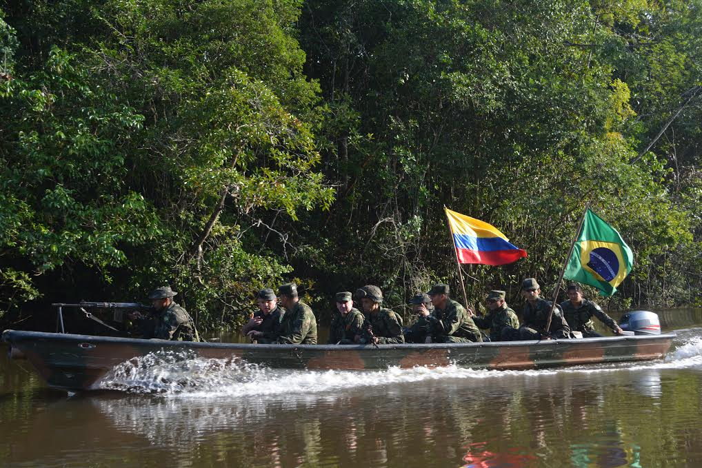 Armed Forces of Brazil, Colombia Cooperate to Fight Trans-Border Crime