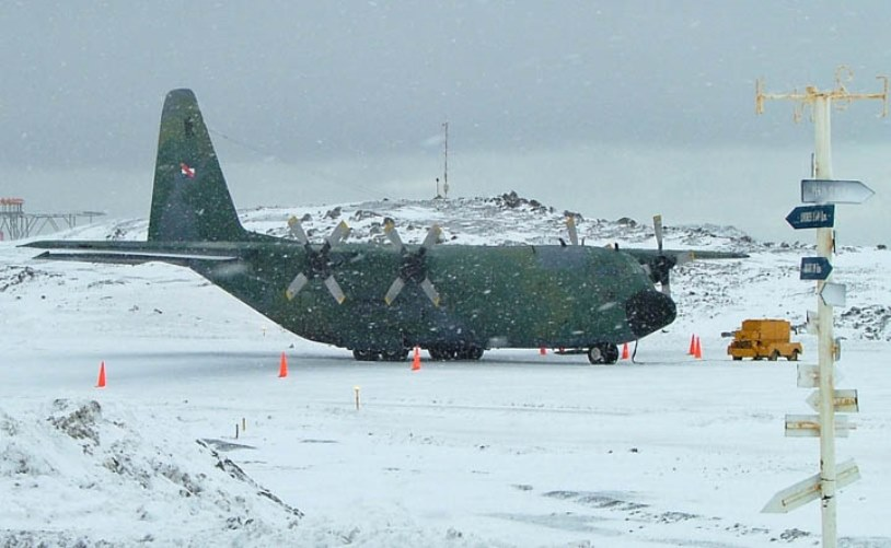 Uruguayan Air Force Modernizes One of its C-130B Hercules Aircraft