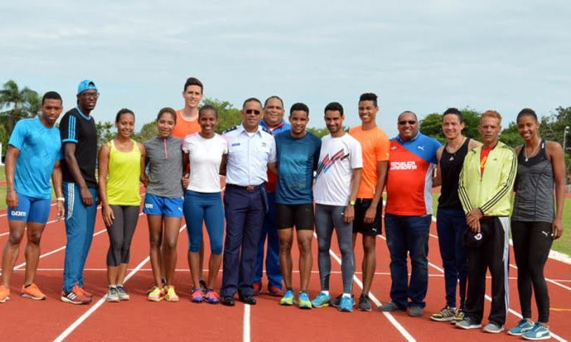 Dominican Air Force Supports Olympic Hopes of Country's Athletes