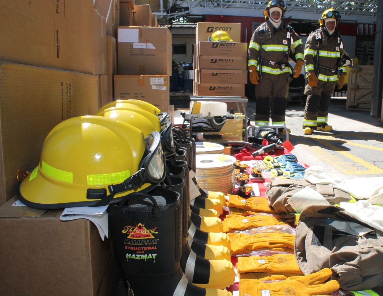 SOUTHCOM Donates Fire Fighting and Rescue Equipment to El Salvador