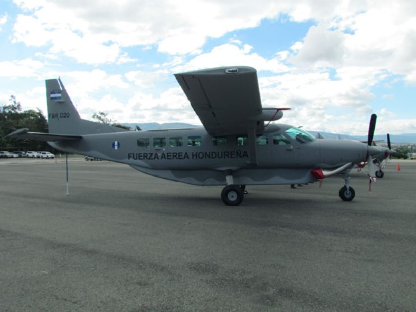 United States Donates Cessna to Honduras to Help Fight Drug Trafficking