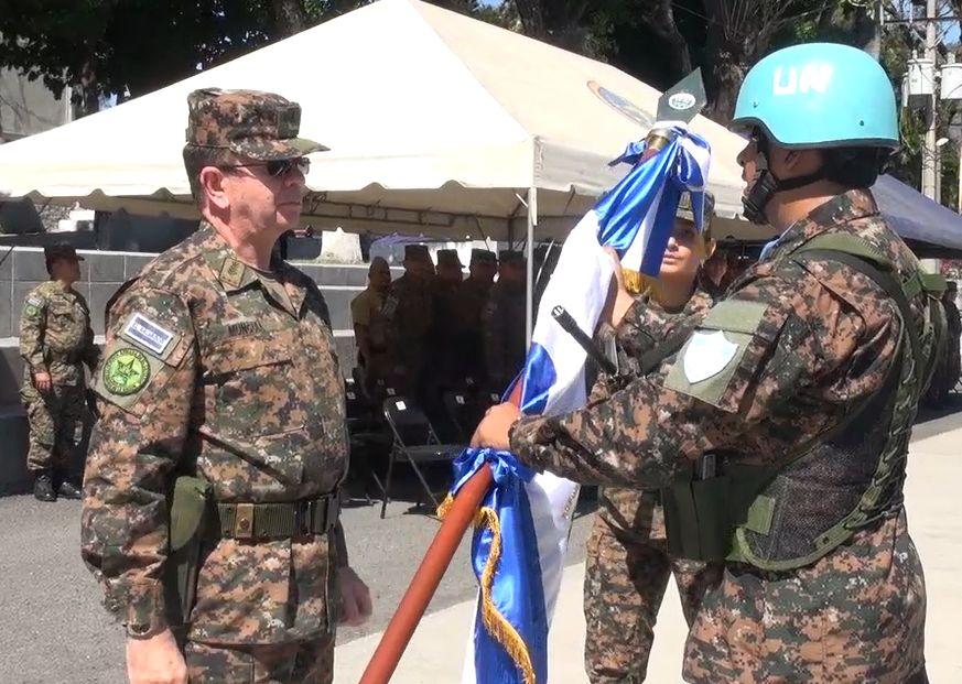 New Salvadoran Troop Contingent Joins Peacekeeping Mission in Lebanon